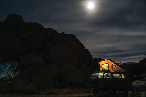 Kit solar furgoneta camper