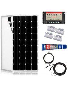 Kit Paneles Solares 700 W/H/Día 12V Furgoneta Camper & Autocaravana