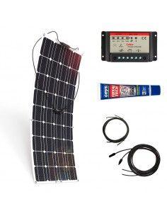 Kit Paneles Solares Flexibles 700 W/H/Día 12V Furgoneta Camper & Autocaravana