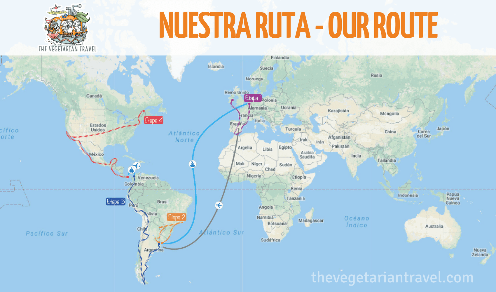 ruta the vegetarian travel